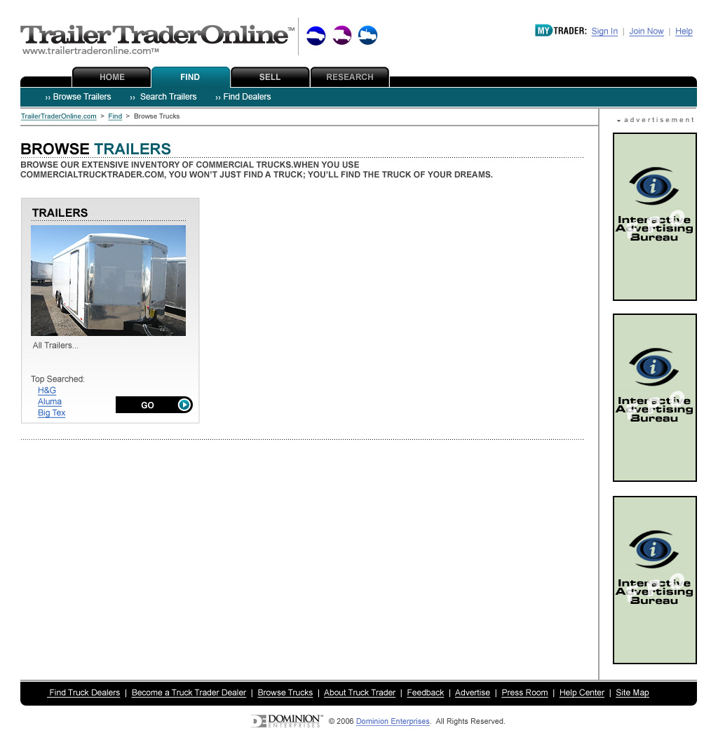 Trailer Trader Online | Browse by Class / Type